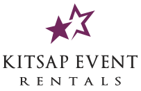 Kitsap Event Rentals. For tent rentals, tables rentals, chairs rentals, party rentals, wedding supply rentals in port orchard bremerton silverdale bainbridge island gig harbor port angeles wa
